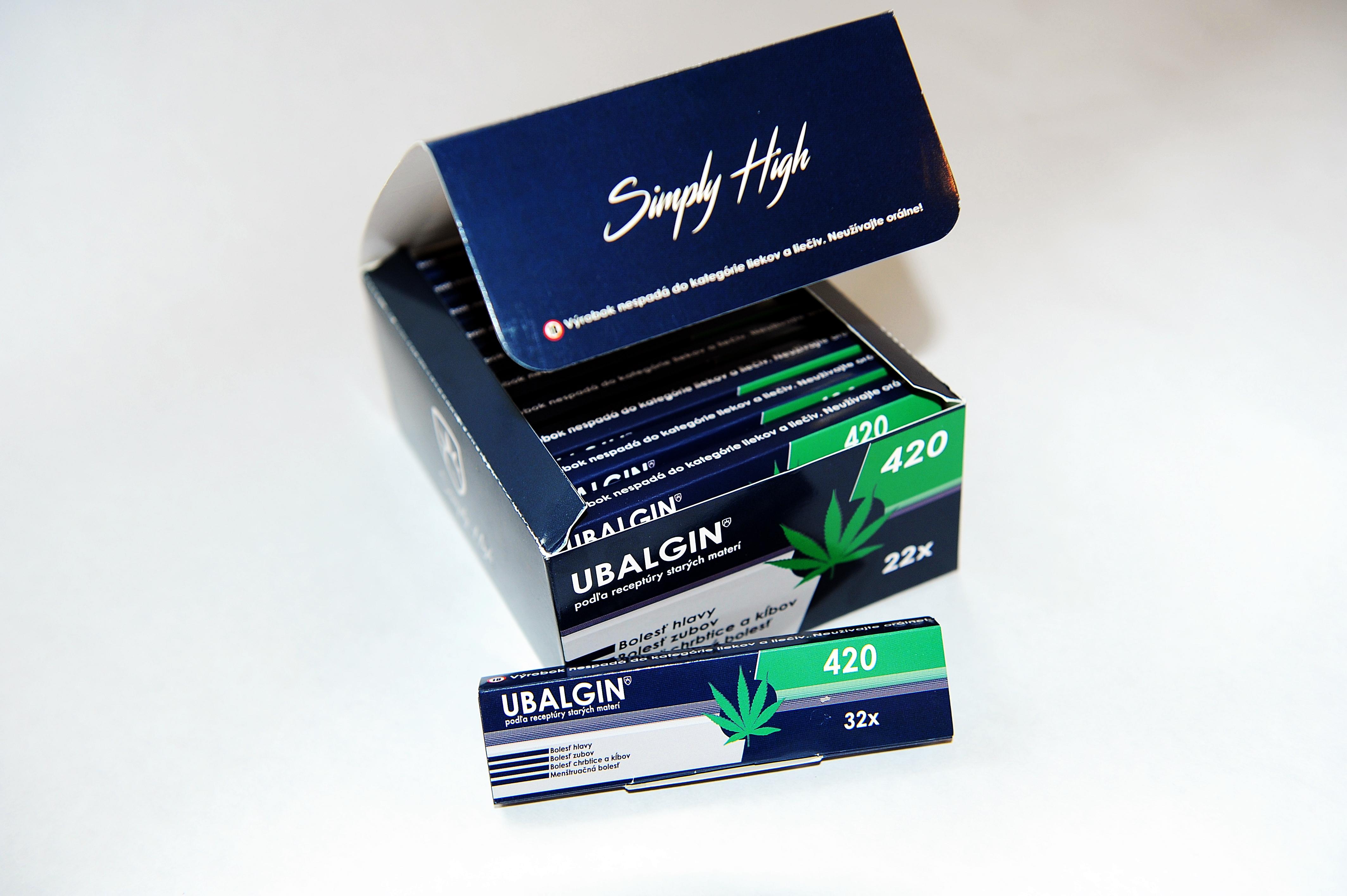 Slovenský skvost Papieriky Ubalgin 420