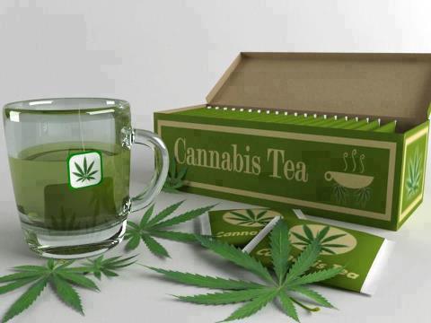 420 Green Tea – recept na konopný čaj